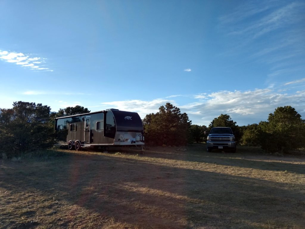 boondocking in national parks