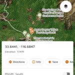 freeroam app for motor vehicle use map