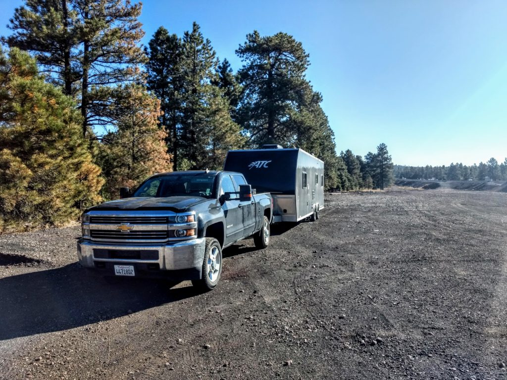 rv boondocking and taking a shower